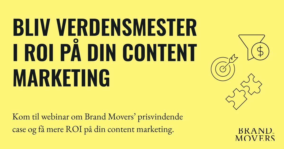 Webinar om content marketing, ROI og Santander Consumer Bank
