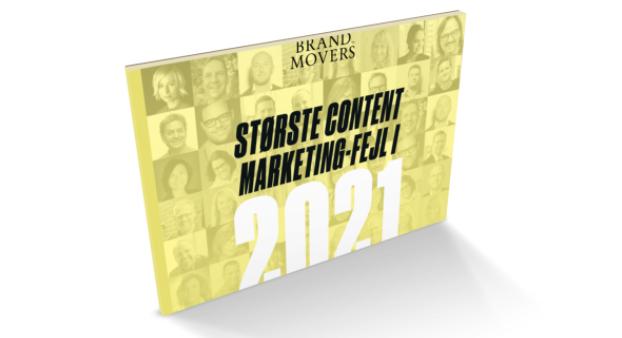 Største content marketing-fejl i 2021