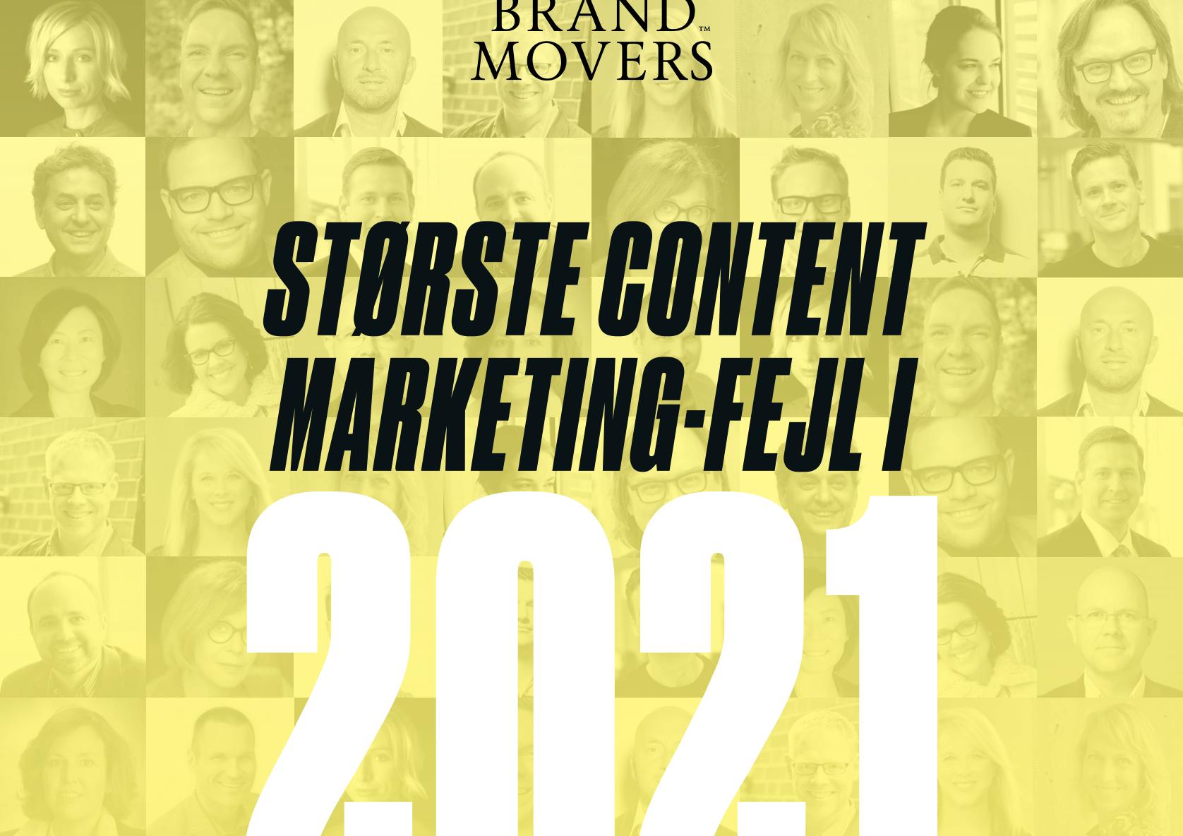 Største content marketing-fejl i 2021 forside